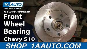 How To Replace Wheel Bearing  U0026 Hub Assembly 98