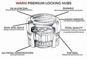 Warn 38826 4wd Man Locking Hubs Dana 60 99