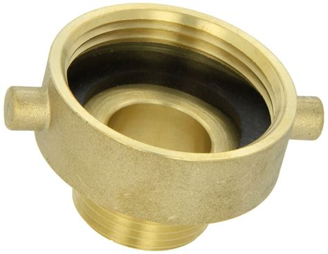 Moon 369-1521061 Brass Fire Hose Adapter Pin Lug 1-1/2