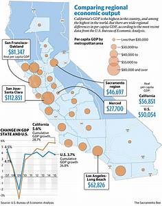 California's GDP varies across the state   The Sacramento Bee