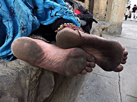 Gypsy Barefoot Cecilia Torture Feet