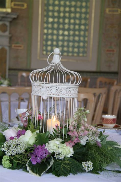 how to decorate bird cages how to decorate a shabby chic birdcage weddingbee