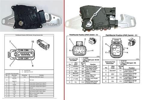 4L60E Park Neutral Switch Types Compatible LS1TECH Camaro ...