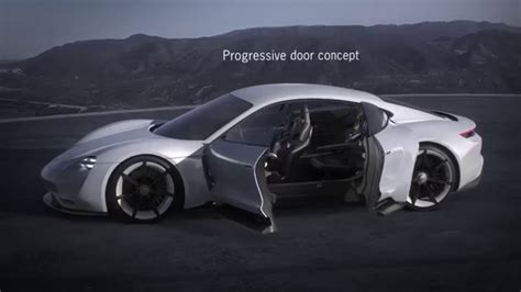 porsche mission e wheels porsche mission e concept all wheel drive dual motor