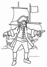 Pirate Coloring Pages Ship Drawing Treasure Printable Chest Pirates Cartoon Drawings Open Getdrawings Children Funny Line Clipartqueen Revolver sketch template