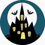 Horror Icon Haunted Halloween Scary Dark Castle