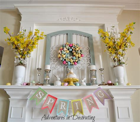 Adventures In Decorating Mantel by Adventures In Decorating Styling Our Mantel