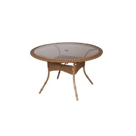 hton bay belleville rectangular patio dining table