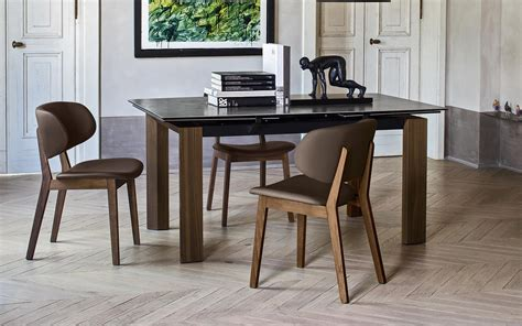 calligaris chaises chaise rembourrée en tissu by calligaris design
