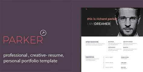 Portfolio Cv by Personal Portfolio Cv Resume Template By