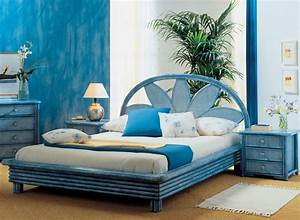 Lit En Rotin : cadre de lit rotin brin d 39 ouest ~ Teatrodelosmanantiales.com Idées de Décoration