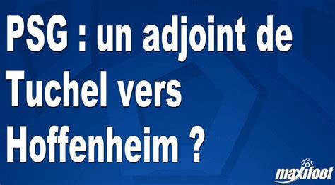Kicker news und liveticker zur tsg 1899 hoffenheim ⬢ @achtzehn99 #tsg #tsg1899 #achtzehn99 @kicker. PSG : un adjoint de Tuchel vers Hoffenheim ? - Football ...