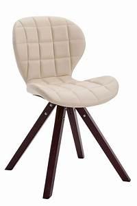 Chaise Salon Design : chaise visiteur alyssa similicuir bois design scandinave salon cuisine bureau ebay ~ Teatrodelosmanantiales.com Idées de Décoration
