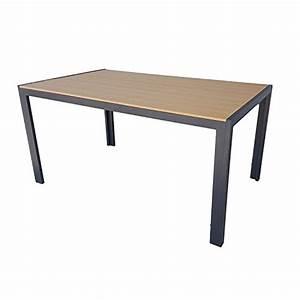 Gartentisch Holz Metall : gartentisch mit kunst holz polywood aluminium metall gestell m bel24 ~ Eleganceandgraceweddings.com Haus und Dekorationen