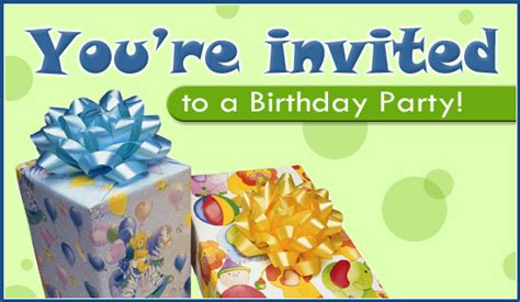 Free Birthday Party eCard eMail Free Personalized