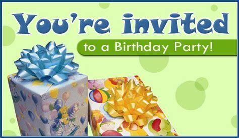 Sent Birthday Party Ecard