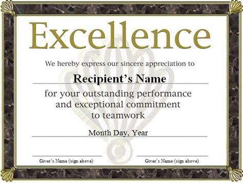 funny award certificates templates  award