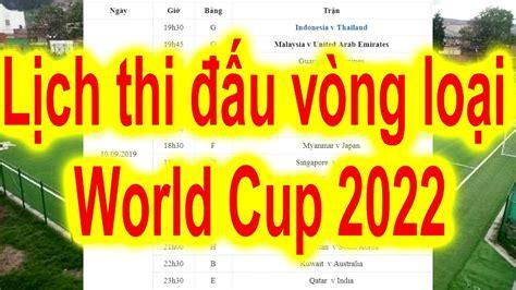 Bảng xếp hạng bảng g vòng loại world cup 2022: Lịch thi đấu vòng loại World Cup 2022.Lịch thi đấu Vòng loại WC 2022 - Lượt 2 - YouTube