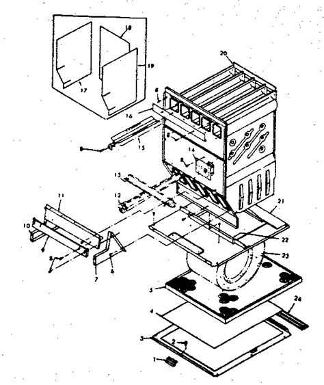 Heat Exchanger Part Diagram by Heat Exchanger 763322 Diagram Parts List For Model