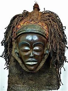 Fine Mwana Pwo Mask - Chokwe - Angola
