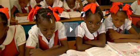 Hundreds of thousands of survivors were displaced. Haiti: Kids, Families Top Agenda Two Years After Earthquake