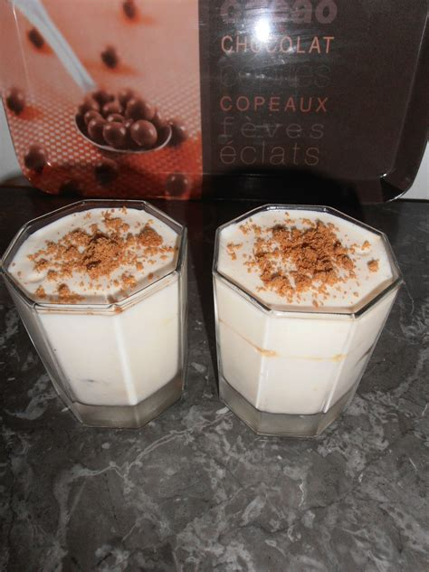verrines fromage blanc speculoos la cuisine d angelle