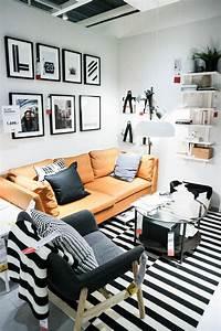 Schwarz Weiß Wohnzimmer : ikea wohnzimmer schwarz weiss trend sara bow ~ Orissabook.com Haus und Dekorationen