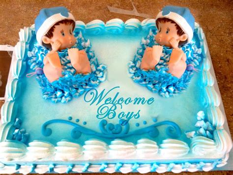 Baby Shower Ideas For Twin Boys