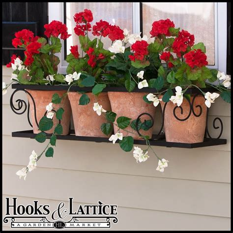 Window Ledge Plant Pots by 60 Quot Scroll Window Box Cage For The Home Jardins