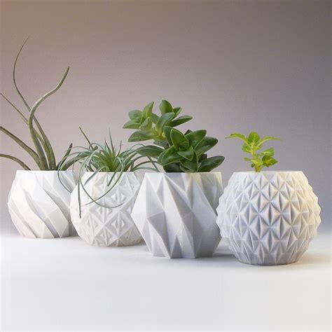Geometric Planter Variety Pack  Set Of 4 Innovative