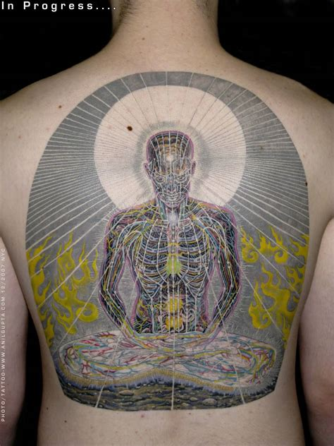 mandala paisley pattern spiritual tattoo  arm   mills