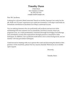Simple Cover Letter Samples | Cv Templates Simple and Best