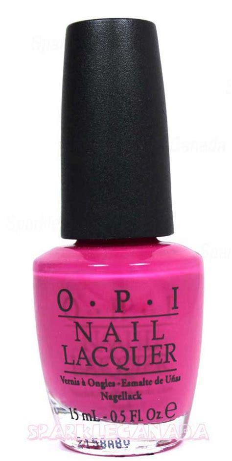 opi pink flamenco  opi nle sparkle canada