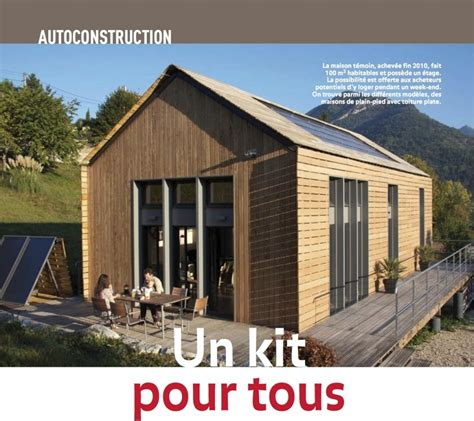 une mini maison en bois en kit de 20m2 224 moins de 8000 pictures to pin on