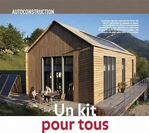 Extension Maison Bois Kit : petite maison bois en kit l 39 habis ~ Melissatoandfro.com Idées de Décoration