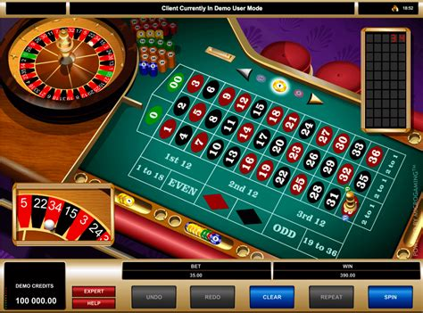 Play American Roulette By Microgaming  Free Roulette Games