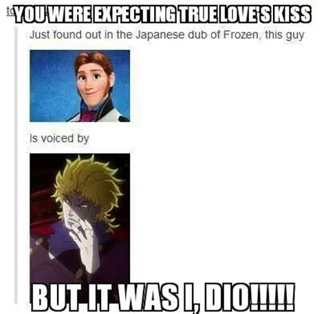 It Was Me Meme - jojo bizarre adventure dio meme google search jojo bizarre adventure pinterest voice