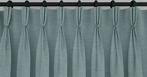 Different types of curtain heading style interior decor for Types of pleat curtains