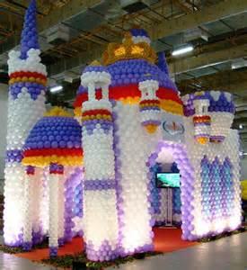 Balloon Castle Decorations