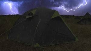 thunderstorm on tent sounds for sleeping