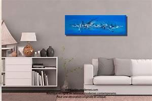 Decouvrez un grand tableau bleu format xxl panoramique for Couleur tendance pour salon 12 decouvrez un grand tableau bleu format xxl panoramique