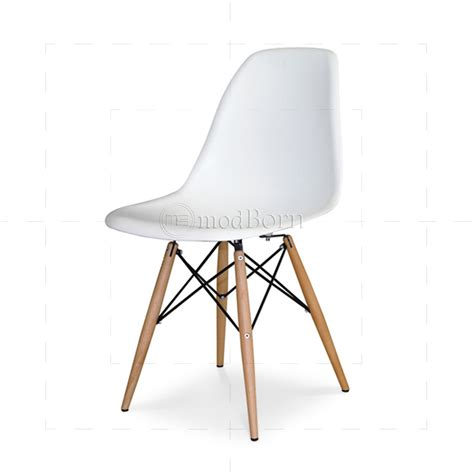white chaise lounge chair eames style dining dsw chair white replica