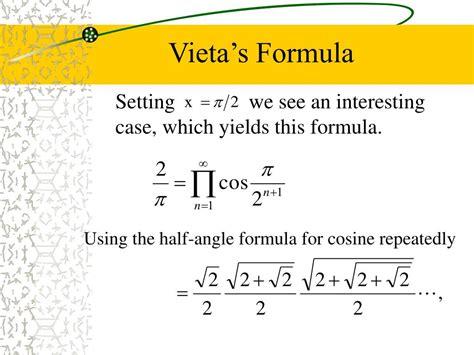 PPT - A Probabilistic Approach to Vieta's Formula ...