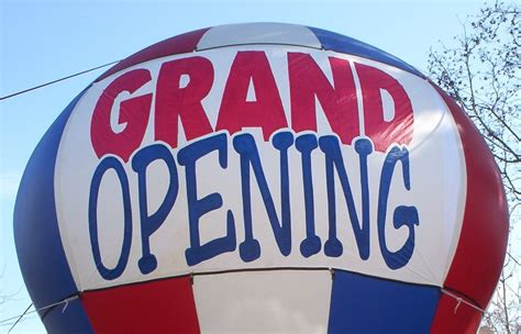 Grand Opening May 10th 2012