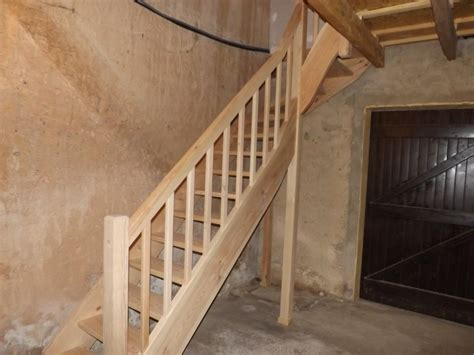 fabrication et pose d un escalier en pin sylvestre