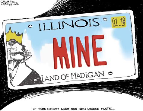 Vanity Plates In Illinois by Stantis Draws Illinois New License Plate Chicago Tribune