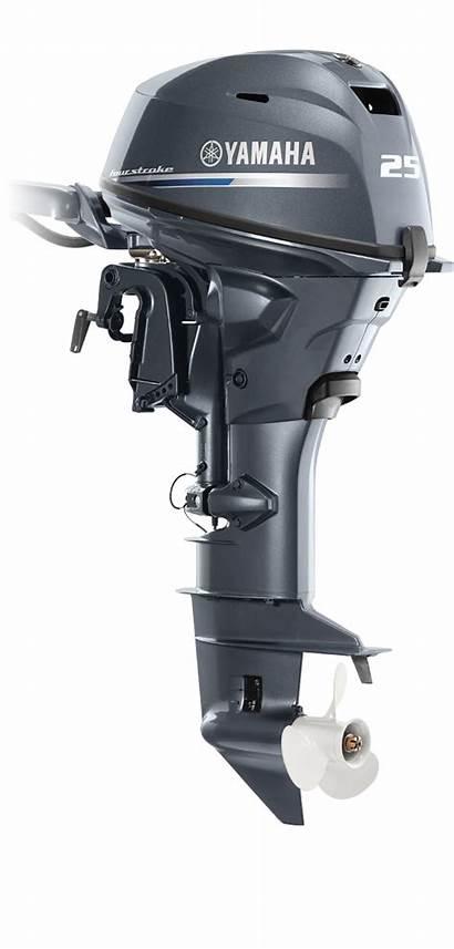 Yamaha Hp Tiller Motor F25 Shaft Outboard