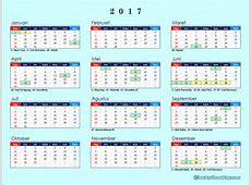 Kalender 2017 Indonesia Lengkap dgn Libur Nasional