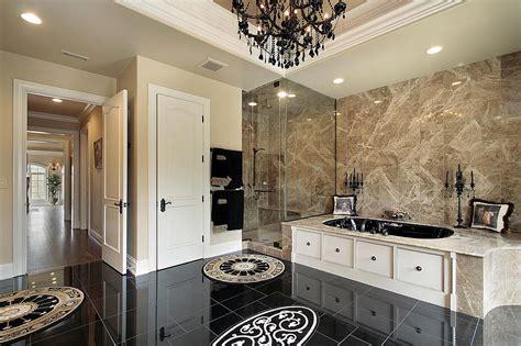 Modern Luxury Bathroom  Stone City Kitchen & Bath Design
