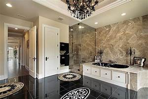 Modern Luxury Bathroom - Stone City Kitchen & Bath Design